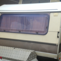 gypsey caravette 5 with full tent and big fridge and freezer