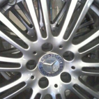 17'' Mercedes original second hand mags and tyres