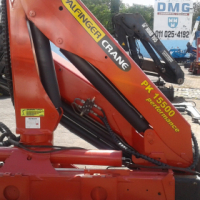 2006 Palfinger PK15500 Truck mounted crane for sale