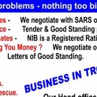 Pressure from SARS or Creditors  ?? COMPROMISES, TAX Clearances  , LIQUIDATIONS , VAT Registrations