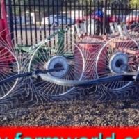 S2150 Agromaster 4 Wheel Hay Rake / 4 Wiel Gras Hark New Implement
