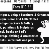 Massive Thrift Shop Clearance Sale Items From R10.00