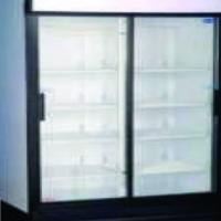 Double Door Beverage Cooler. 2 Door Sliding SL1140
