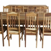 Blackwood - 10 Seater plus Chairs