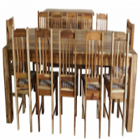 Blackwood - 12 Seater Table and Chairs