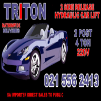 Car lifts, hoists, two-post lifts 4 ton TRITON CAR LIFTS