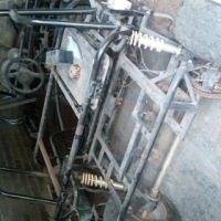 Go cart frame + Engine