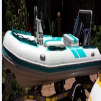 Semi-rigid 5m Crusader with brand new pontoons & 2x 40Hp Yamaha outboards for sale  South Africa
