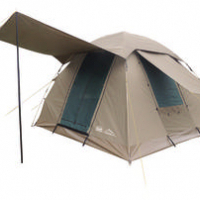 CAMPMASTER.SAFARI Campmaster 310 Safari canvas dome tent.