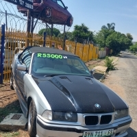 BMW e46 with a lexsus v8 motor for sale R55000 CALL 0737820177
