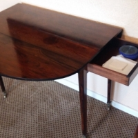 Rosewood Penbroke Table Available For R2200.00