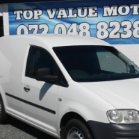 2010 VW CADDY 1.6 PANEL VAN.