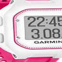 Garmin Forerunner 25 Pink and White