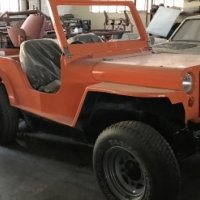 Jeep Cj1 (replica)