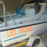 cabin cruser 50hp yamaha trim and tilt for sale  South Africa