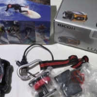 Pentax Ricoh WG-M1 Action Video Camera in Black