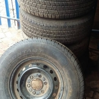 Ford ranger 4x steel rims and tyres