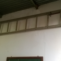 Used, Aluminium ladder 4m long for sale  South Rand