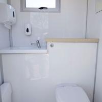 2015 Model For VIP Mobile Toilet 2 Seat Trailer