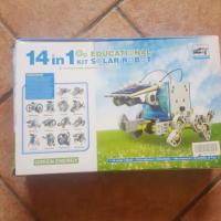 14 in 1 robot solar powered toy kit