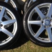 "18"" original AMG Vito mags&tyres"