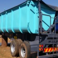 TIPPER - 15M3 - SIDE TIPPING/ DOUBLE AXLE
