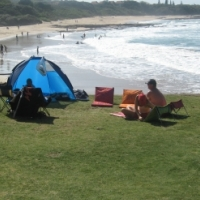 Lazy days on St Mikes beach – 1 bedroom holiday flat sleeps 2 to 4