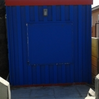 Fully equipped takeaways Container