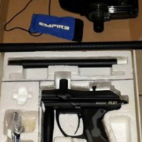Spider pilot paintball gun with electric trigger