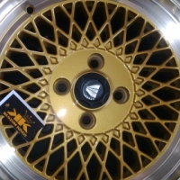 "15"" Enkei new Rims in gold only at Kustom Kings!"