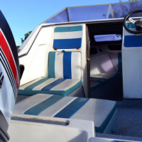 Baronet Cabin boat with 75hp electric trim and Tilt 75hp Yamaha engine. for sale  South Africa