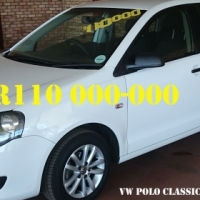 2012 White VW Polo 1.6 Classic Comfort Line - SHOWROOM CONDITION