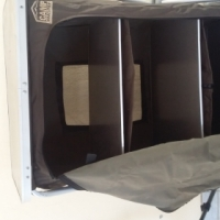 Camp master foldable cupboard