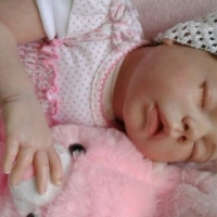 New born hand made baby doll for sale