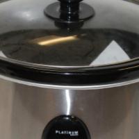 Platinium Slow Cooker S022370A #Rosettenvillepawnshop
