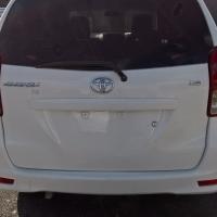 A Toyota Avanza Tx 1.5 2012 model