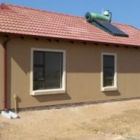 New houses in soshanguve next to a new mall