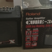 Roland Cube 30X Guitar Amp and Zoom G2 Pedal for sale  West Rand