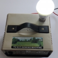 180W 12V Inverter with Light Socket