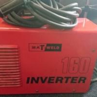 Mat weld 160 amp inverter welder.