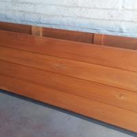 Garage Door Wood single sectional Horizontal