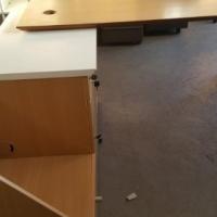 Modern design Beech desk