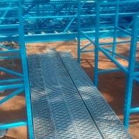 Open Steel Floor Planks Mezzanine Floor