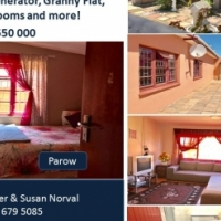 Family home plus a granny flat for sale in Parow .