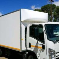 Isuzu NPR400 Semi Insulated Van Body