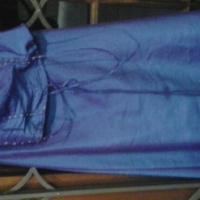 Purple dress with beading