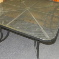 Steel Patio Table