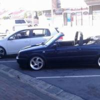2litre convertible Golf3