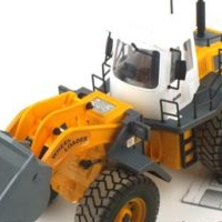 double wheel loader remote control toy