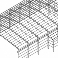 new complete steel structure for sale